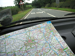 12 car rally races require serious navigational skills