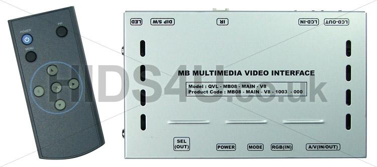 BMW Sat Nav Multimedia Video Interface PIP for Reversing Camera and