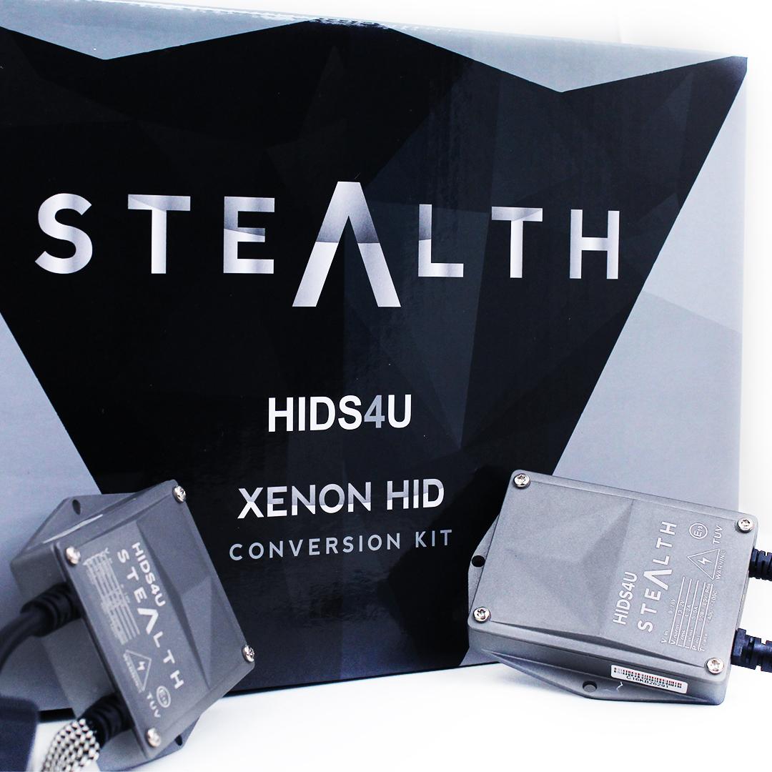 HB4 9006 HIDS4U Stealth 55W Xenon HID Conversion Kit