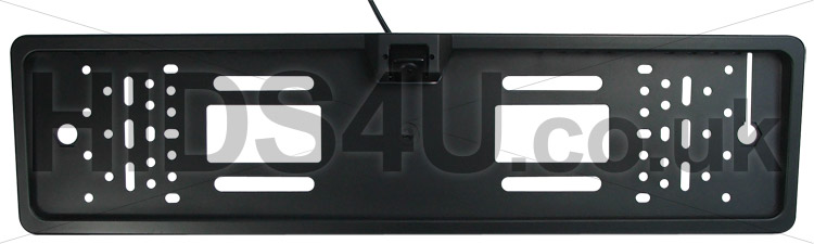sc 1 st  HIDs4U & CCD Waterproof Number Plate Holder with Integrated Reversing Camera