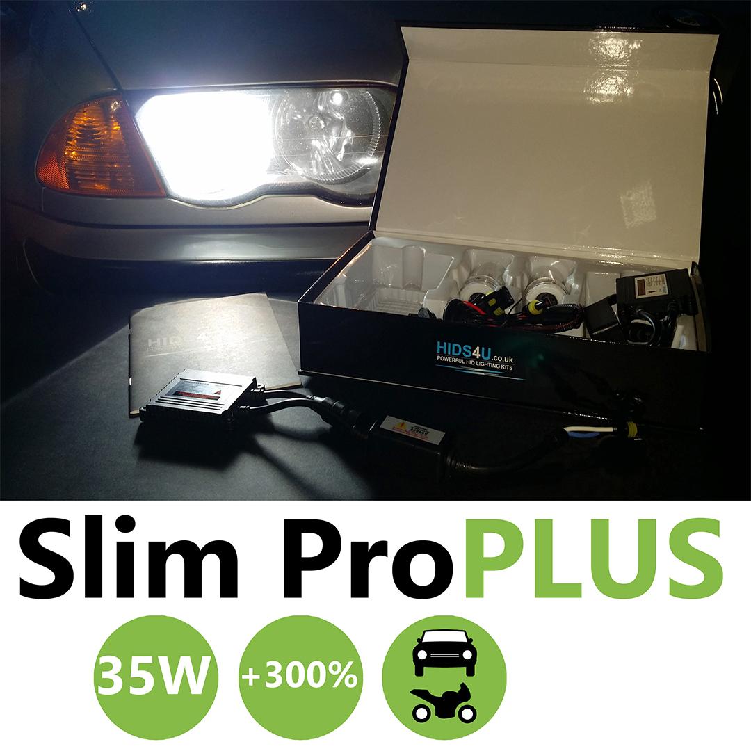 H3 35w Slim Pro Plus Xenon HID Xenon Conversion Kit
