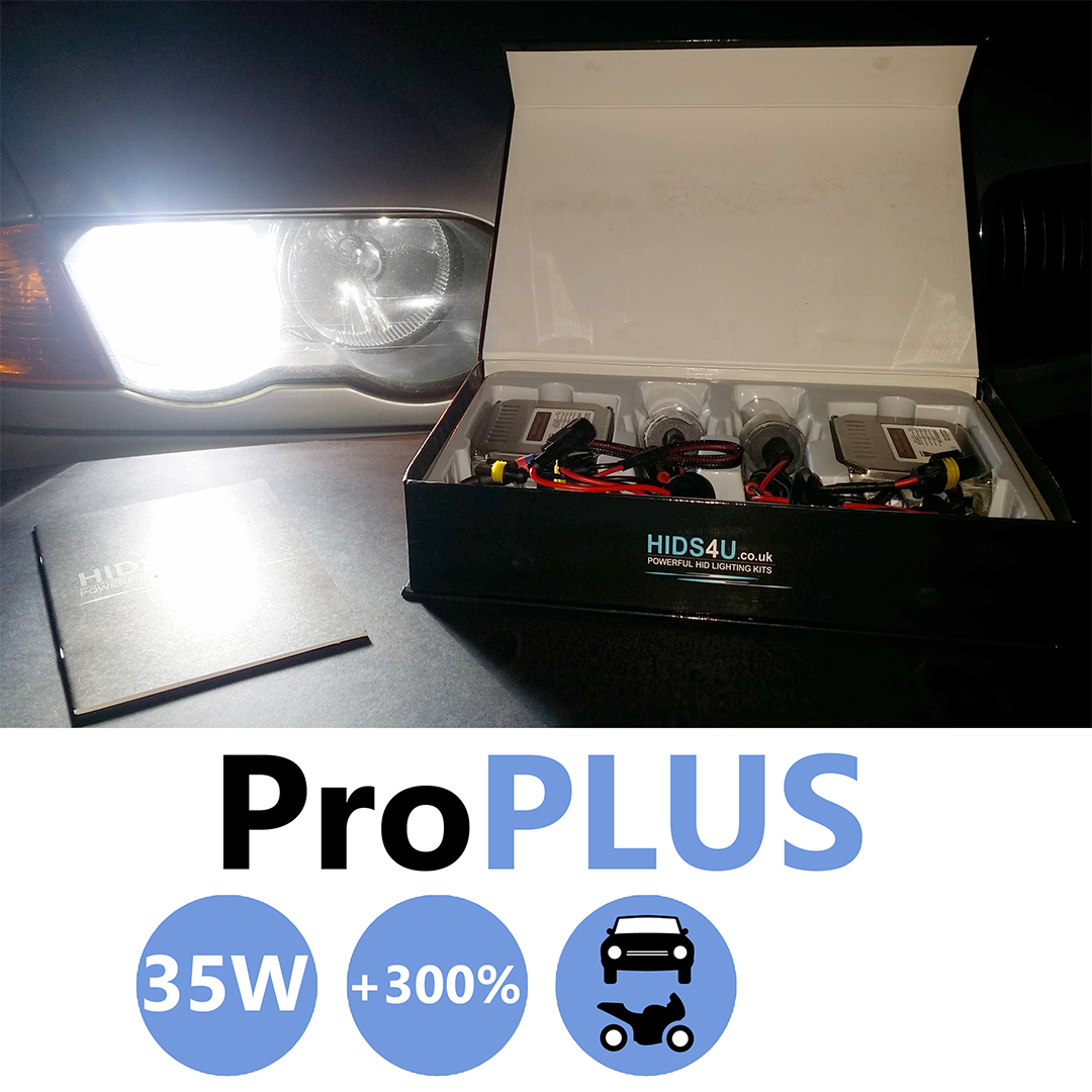 H3 35w Pro Plus Xenon HID Conversion Kit