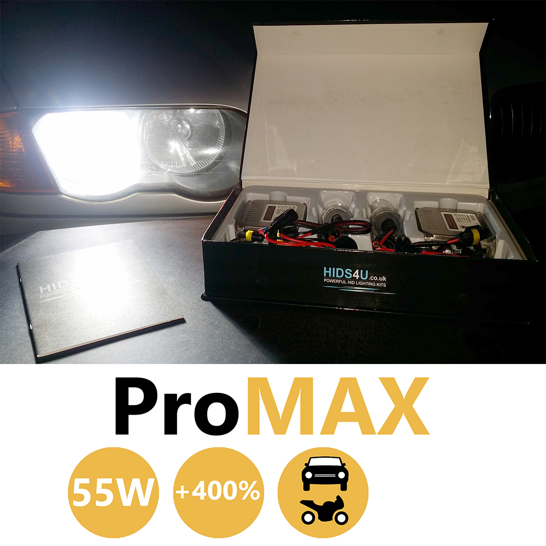 H4 55w ProMax Bi-Xenon HID Conversion Kit