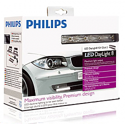 Philips DRL LED Daylight 8 Running Lights LED Daytime